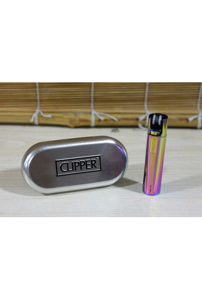 Clipper Metal Çakmak Gökkuşağı