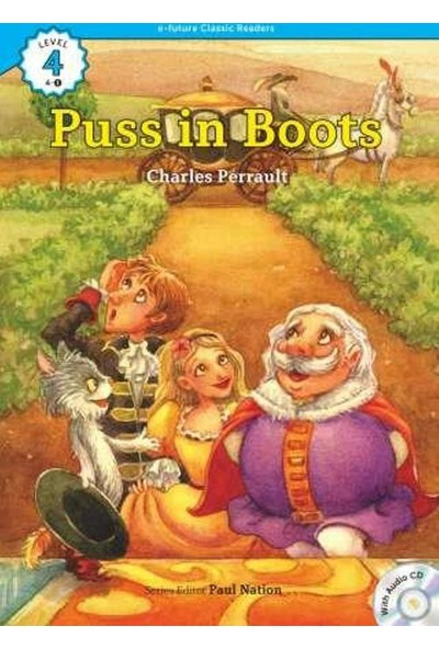 Puss İn Boots +Cd (Ecr Level 4)