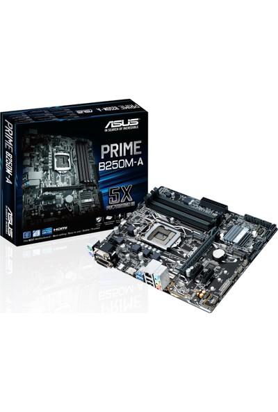 Asus Prime B250M-A İntel B250 2400MHz DDR4 Soket 1151 mATX Anakart