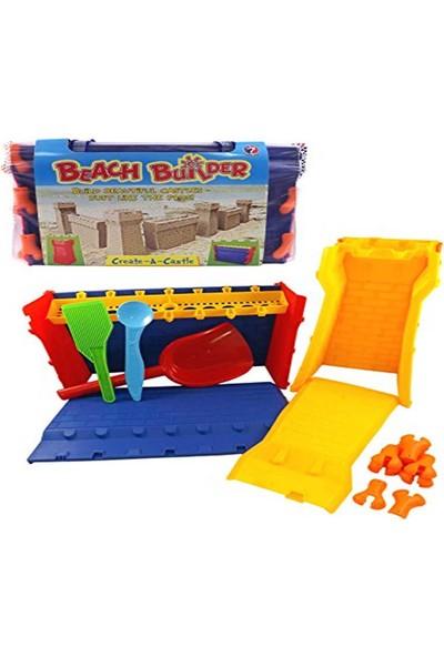 DS Beach Builder Create Castle - 37 Parça Kumdan Kale Yapma Seti