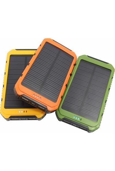 Solar Güneş Enerjili 15000 Mah Taşınabilir Şarj Cihazı - Powerbank