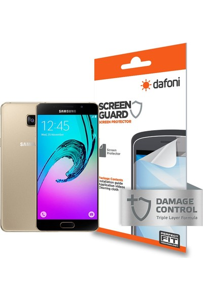 Dafoni Samsung Galaxy A9 Ön + Arka Darbe Emici Full Ekran Koruyucu Film