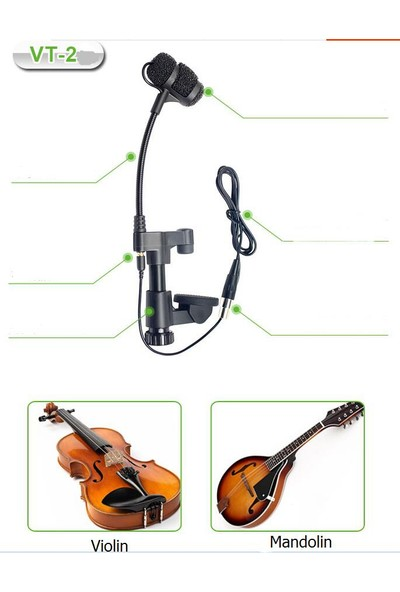 Acemic Vt-20 Wired Instrument System