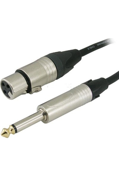 D Cable Trs-Dişi Xlr 10Mt Lıne Kablo 6020