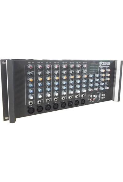 D-Sound P-8 Usb Küp Mixer