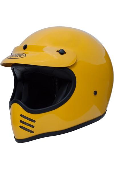 Premier Mx U12 Sarı Kask