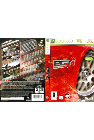 Pgr 4 Project Gotham Racing 4 Xbox360