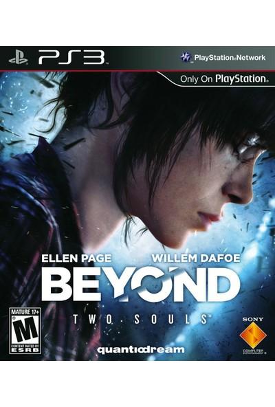 Beyond Two Souls Ps3 2. Bölge Pal Türkçe Alt Yazılı