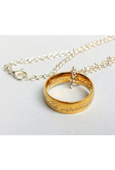 A-Leaf Lord Of The Rings Sırlar Yüzüğü Yüzüklerin Efendisi Yüzük Hobbit Güç Yüzüğü Gold