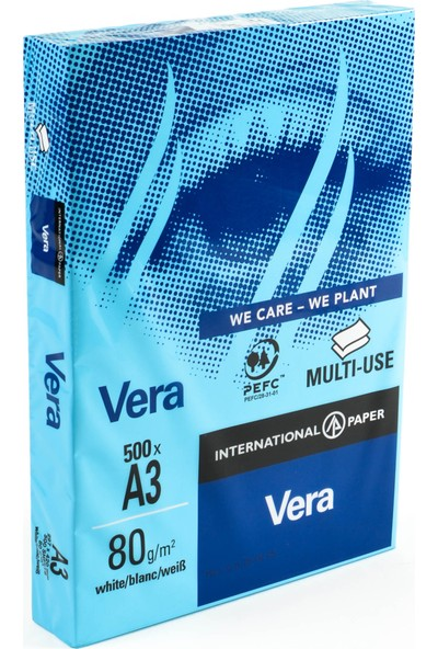 Vera A3 80 gr Fotokopi Kağıdı 500 sf.