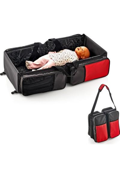 Baby Jem Art-392 Katlanır Pratik Bebek Seyahat Yatağı