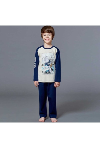 Roly Poly 2913 Erkek Çocuk Pijama Takımı
