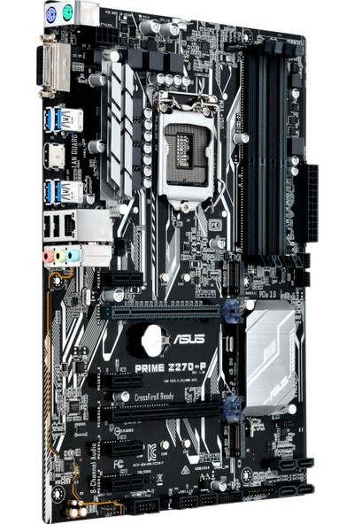 Asus Prime Z270-P İntel Z270 3200MHz+ (OC) DDR4 Soket 1151 ATX Anakart