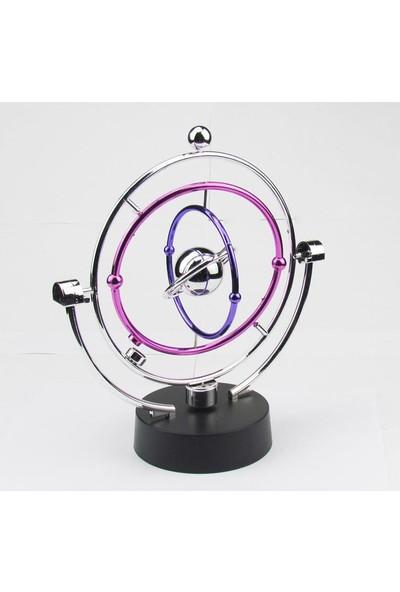 Köstebek Mıknatıslı Renkli Denge Topu Newton Kinetic Orbital