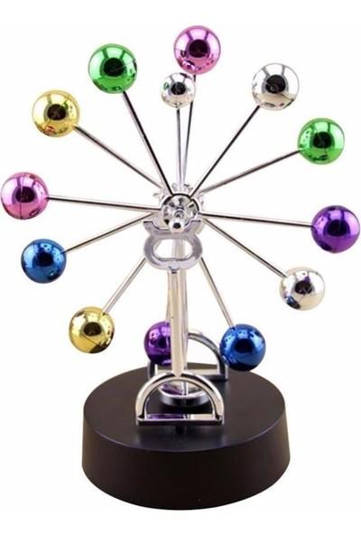 Köstebek Mıknatıslı Renkli Denge Topu Newton Balance Balls