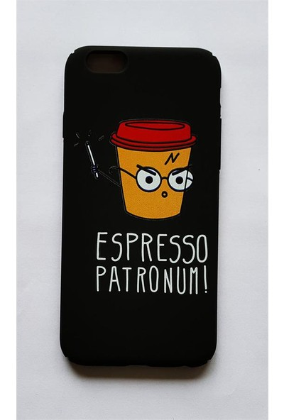 Köstebek Harry Potter - Espresso Patronum İphone 6 Telefon Kılıfı
