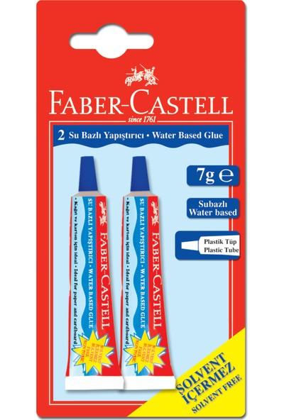 Faber Castell Bls. Sıvı Yapıştırıcı 7g, 2'li (Solvent içermez)