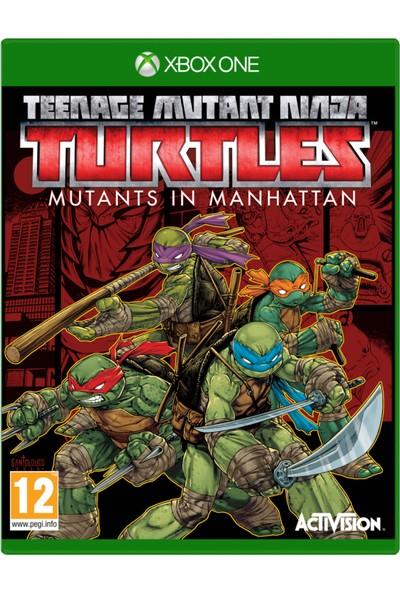 Xbox One Teenage Mutant Nınja Turtles: Mutants In Manhattan