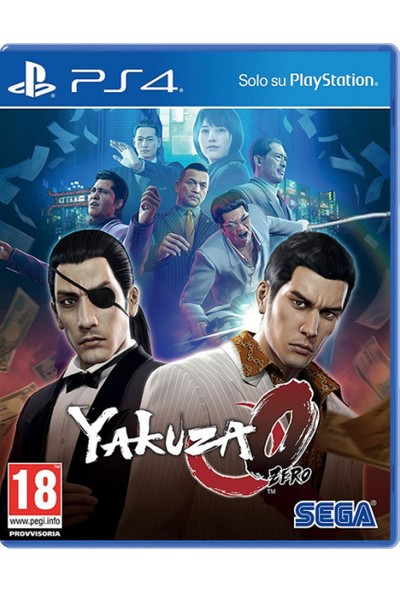 Yakuza Zero 0 PS4 Oyun
