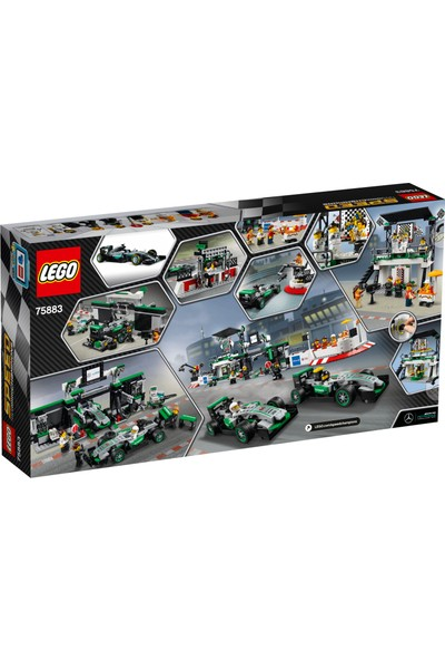 LEGO Speed Champions 75883 MERCEDES AMG PETRONAS Formula 1™ Takımı
