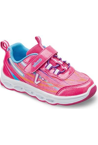 Vicco Patik Işıklı Ayakkabı Fuşya