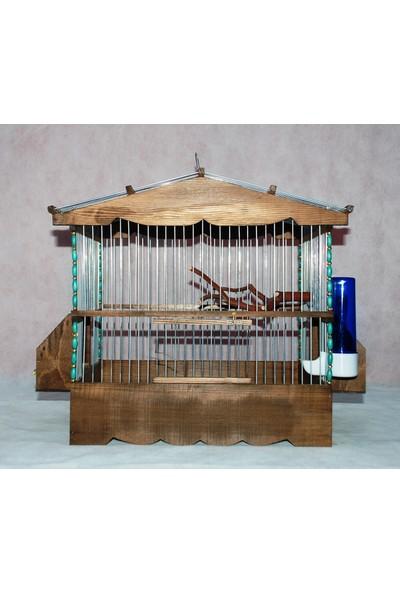 Naturbird Dik Çatılı Ahşap Kafes