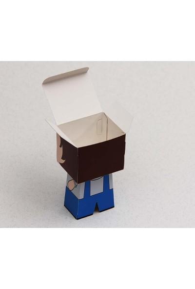 Mevlid Hediyesi Erkek Ve Kız Karakter Figür Kutu Seti - 2'Li Kutu, 20 Adet