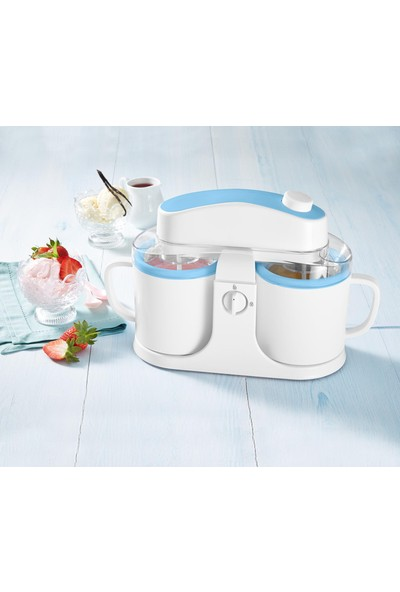 Tchibo Duo Dondurma Yapma Makinesi