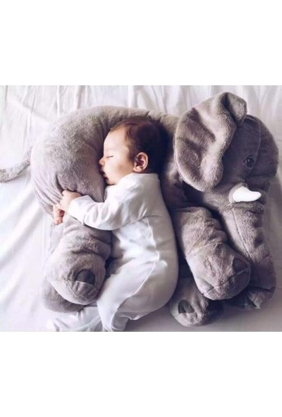 Little Bonny Uyku Arkadaşım Fil Peluş Yastık Oyuncak 60Cm Sleeping Mate