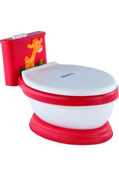 Kraft Müzikli Eğitici Tuvaletim - Kırmızı