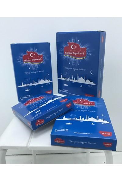 Gönder Bayrak - Türk Bayrağı Alpaka Kumaş 100x150Cm