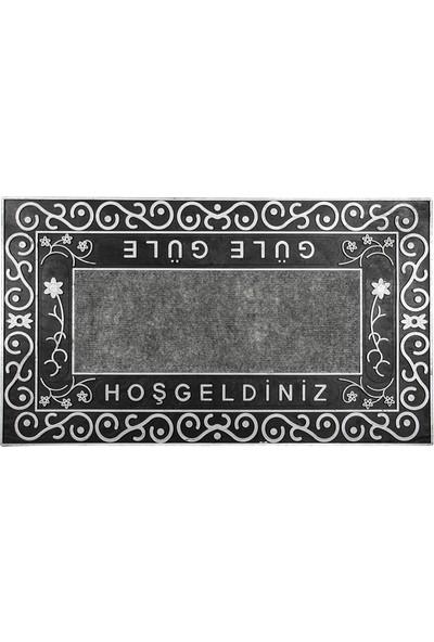 Dekohouse Kapı Önü Paspas Gümüş