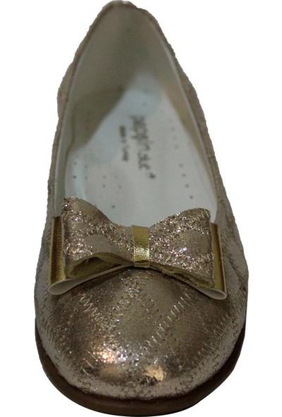 Papşin Clup 271-2053 Gold Kapitone Fiyonklu Babet