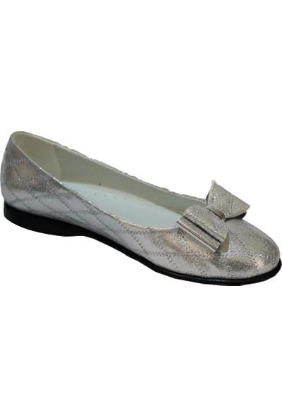 Papşin Clup 271-2053 Gümüş Kapitone Fiyonklu Babet
