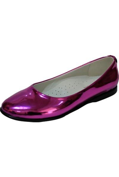 Papşin Clup 271-2053 Fuşya Babet Kız Çocuk Ayakkabısı