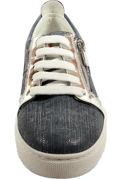 Papşin Clup 271-116 Kot Mavi Kız Çocuk Ayakkabısı