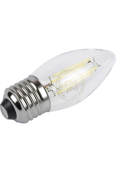 Maxima 4-51W E27 Filament Led Ampul Beyaz Işık (Normal Duy)