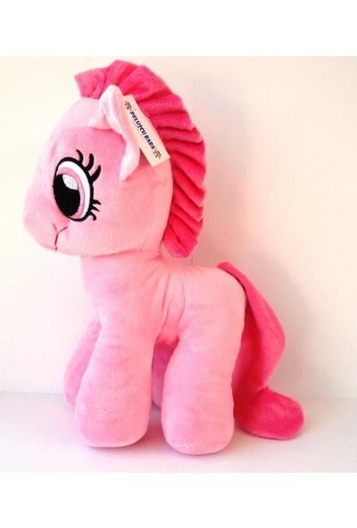 Peluşcu Baba 35 cm Sevimli Pony At Büyük Peluş Oyuncak
