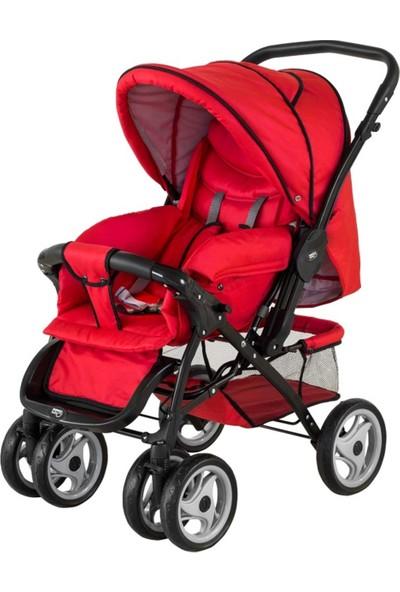 Sunny Baby Sunny Baby Star Çift Yönlü Bebek Arabası - Kırmızı