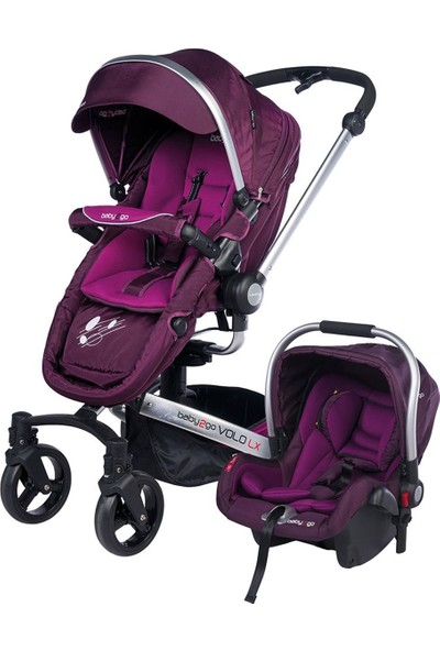 Baby2Go 6030 Volo Travel Sistem Bebek Arabası - Mor