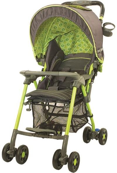 Crystal Baby 218 Elegance Tek Yönlü Puset - Yeşil
