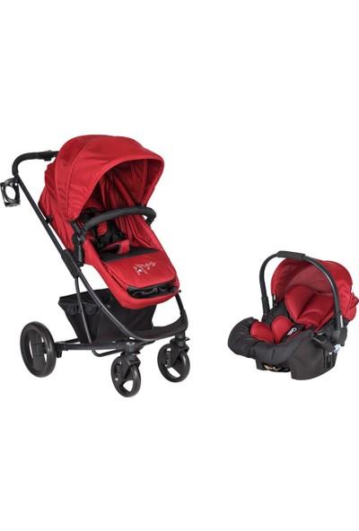 Sunny Baby Sunny Baby 778 Saturn Travel Set Bebek Arabası Kırmızı
