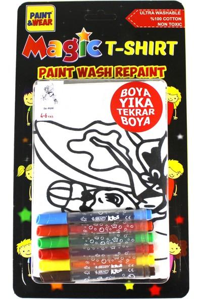 Paint&Wear Sihirli Peri Boyama T-Shirt 9-11