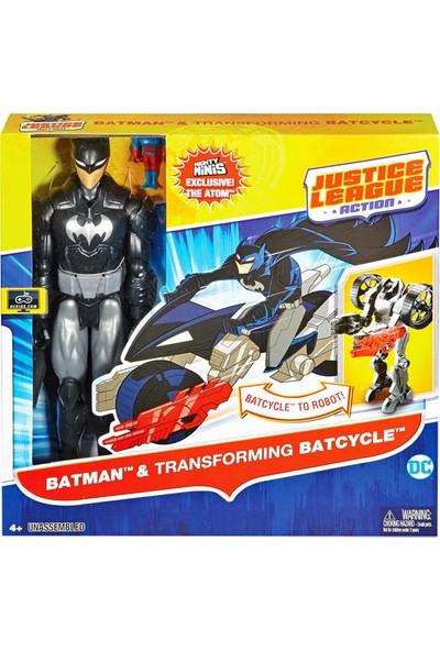Justice League Action 30cm Figür ve Aracı FBR10-DXX16