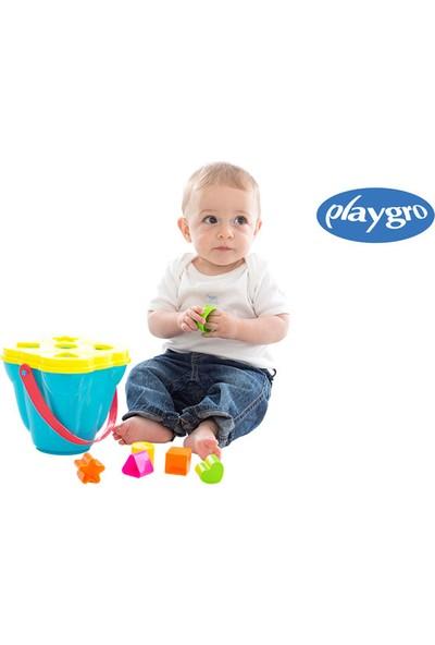 Playgro Şekil Öğretici Kova 7731