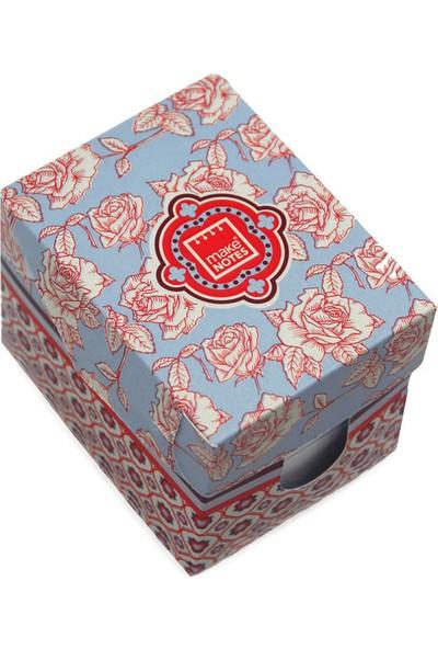 Makenotes Floral Quilt Mini Kağıt Kutusu Mn-Fq-Cx