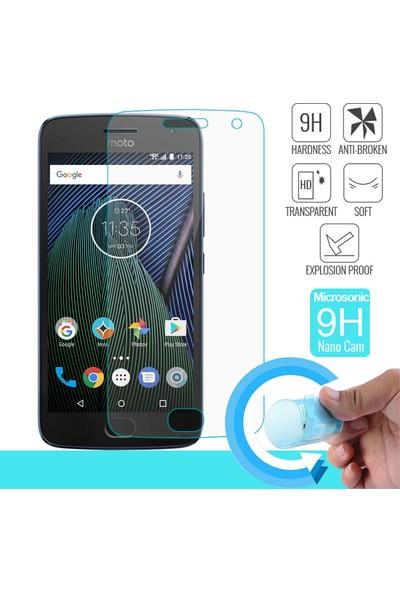 Microsonic Motorola Moto G5 Plus Nano Cam Ekran koruyucu film