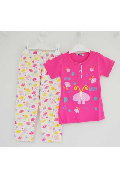 Mini Okyanus 4073 Baskılı Pijama Takımı