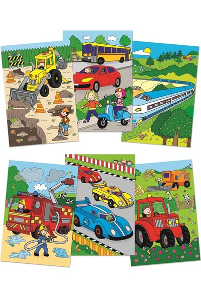 Galt Sihirli Kitap - Taşıtlar (Water Magic Vehicles)