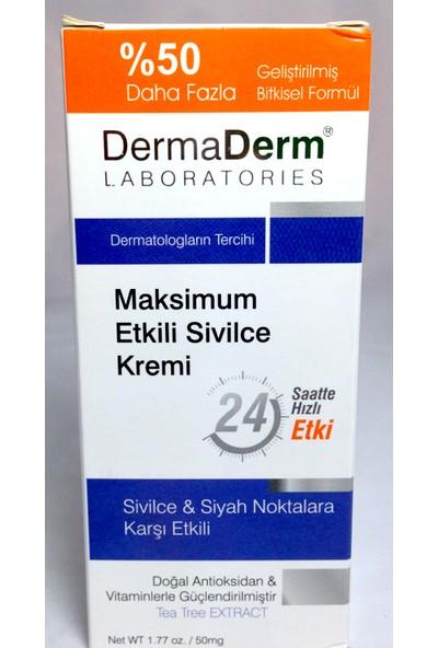DermaDerm Bitkisel Sivilce S.Nokta Kremi 100gr